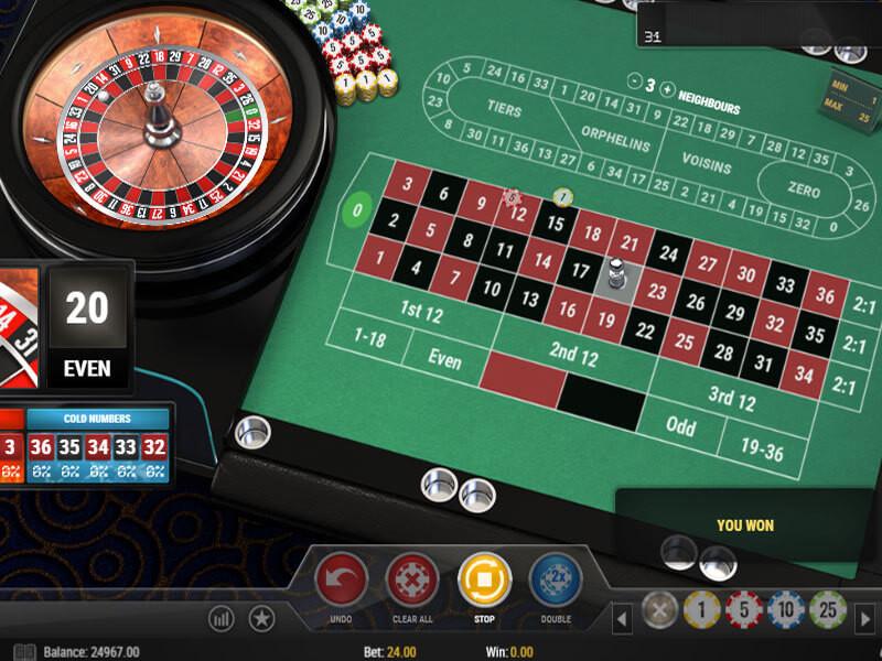 Online-Roulette kostenlos spielen